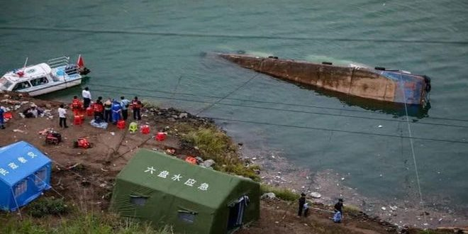 12 dead after passenger ship capsizes in Guizhou, China