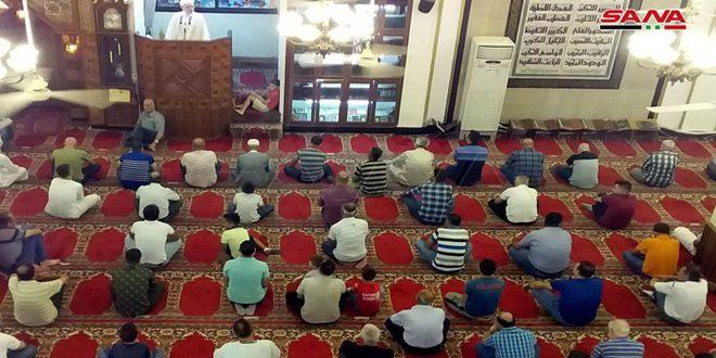 FOTOS: rezos de Eid Al-Adha en las mezquitas de Siria