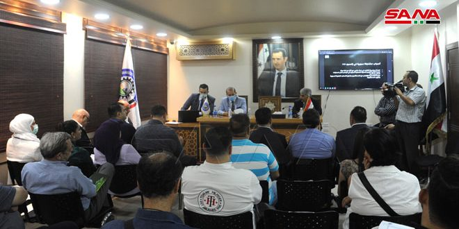 Des opportunités d'investissement au pavillon syrien à Expo Dubaï 2020