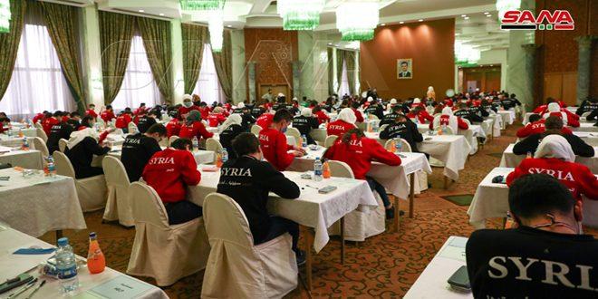 Suriye Bilimsel Olimpiyatları Eleme Sınavları Bugün Devam Edildi