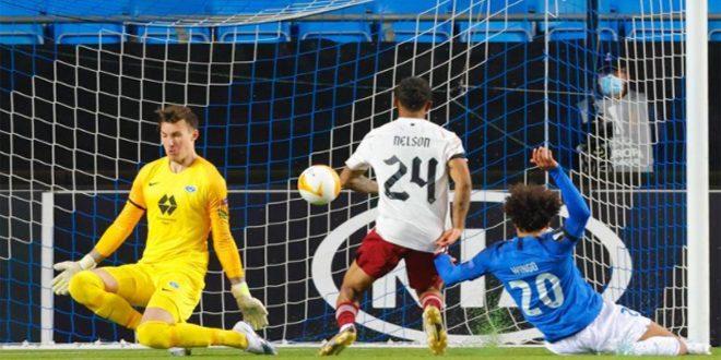 أرسنال يهزم مولده في الدوري الأوروبي