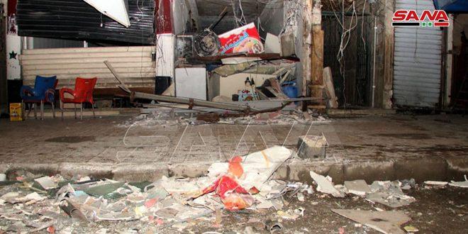 وفاة شخص وإصابة أربعة جراء انفجار أسطوانة غاز داخل محل بحلب