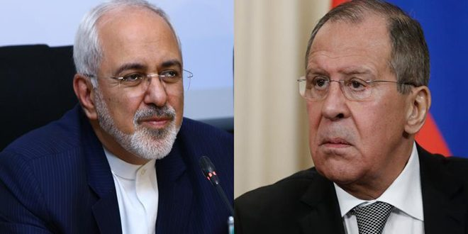 لافروف وظريف يبحثان في موسكو غداً تسوية الأزمة في سورية