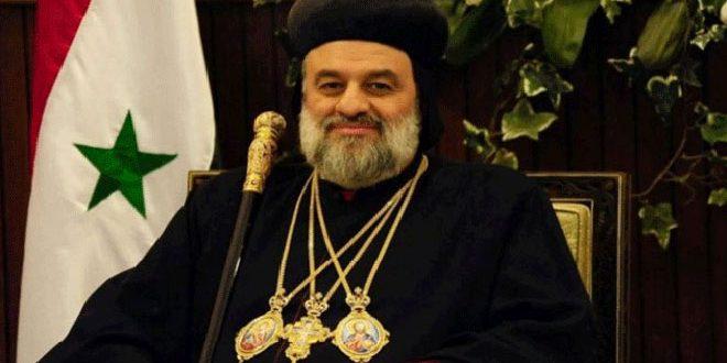 البطريرك أفرام الثاني وعدد من رؤساء الكنائس والفعاليات السياسية في العالم يطالبون في رسالة لبايدن بإلغاء الإجراءات القسرية المفروضة على سورية