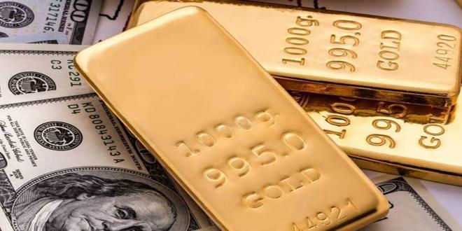 الذهب يصعد مع تراجع الدولار الأمريكي
