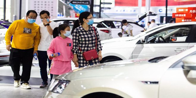 نمو مبيعات السيارات في الصين