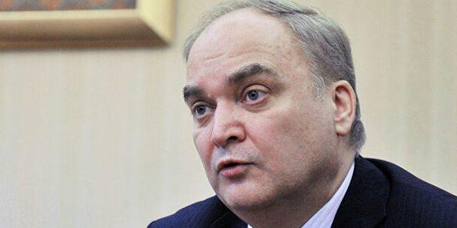 أنطونوف: موسكو وواشنطن تجريان حواراً بناءً على مستوى الخبراء بشأن سورية