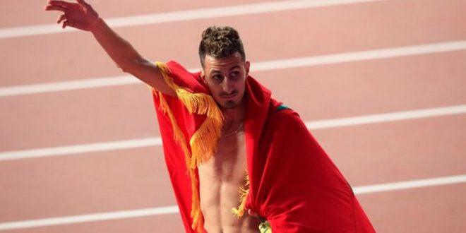 المغربي البقالي يحقق الميدالية الذهبية بسباق 3000 متر موانع في أولمبياد طوكيو 2020