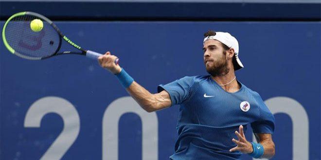خاشانوف إلى الدور الثاني من بطولة ميتز المفتوحة للتنس