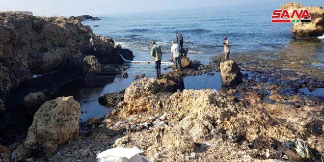 إجراءات للحد من أضرار تسرب الفيول على سلامة الأسماك