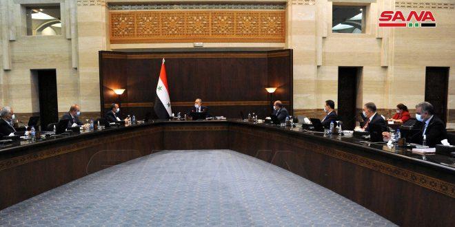 إقرار الاعتمادات الأولية لمشروع الموازنة العامة للدولة للعام القادم