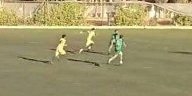 فوز الحرية على عمال حماة في دوري الدرجة الأولى بكرة القدم