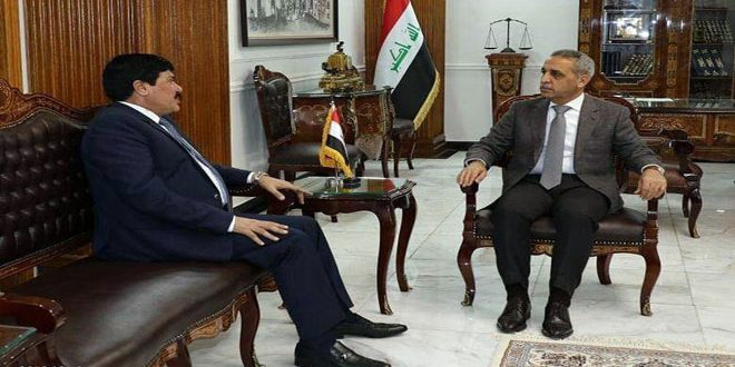 Syria, Iraq discuss means to enhance legal and judicial cooperation