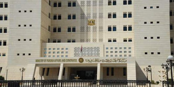 Syria affirms it will continue fighting terrorists and protecting Syrians from their crimes