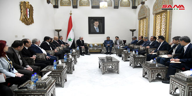 Anzour: Iran's important role in backing Syria to confront economic war against it