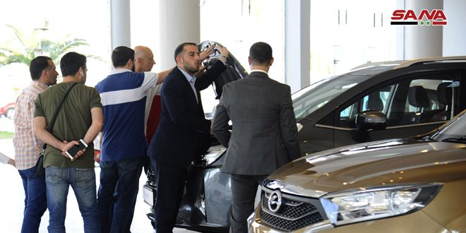 """""""Motor Show"""" exhibition concludes activates in Damascus"""