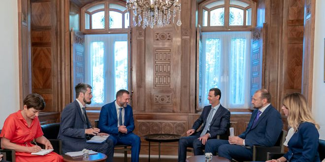 President al-Assad: Syrian people and army determined to continue fighting terrorists until every inch of Syrian territory is liberated