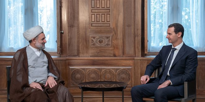 President al-Assad: The most important elements of strength of axis of combating terrorism is its adherence to principles that cannot be changed