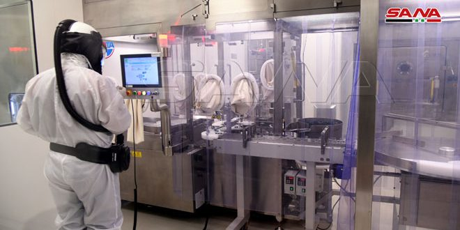 A factory to produce Syria's first manufactured anticancer drugs inaugurated