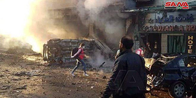 Seven civilians martyred, 70 others injured in terrorist bombings in Qamishli – VIDEO