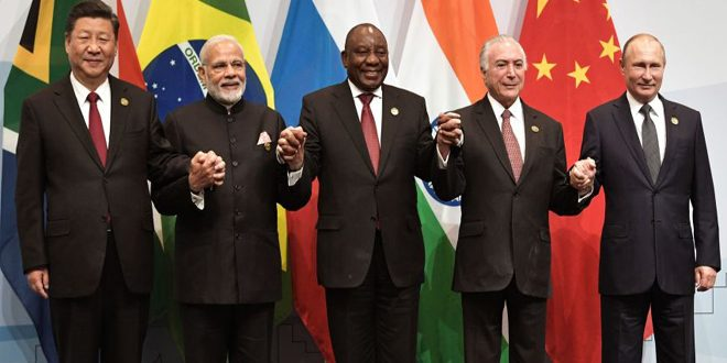 BRICS leaders renew commitment to Syria's sovereignty, territorial integrity