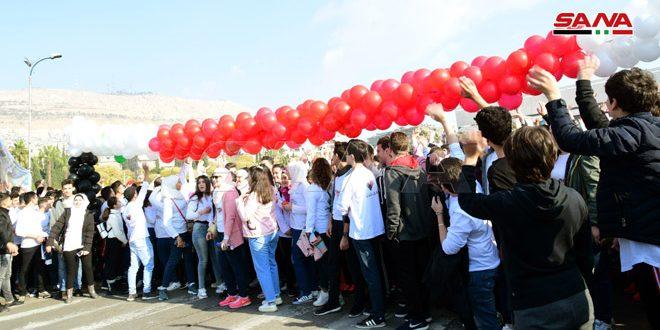 """I love you Syria"" marathon kicks off in Damascus"