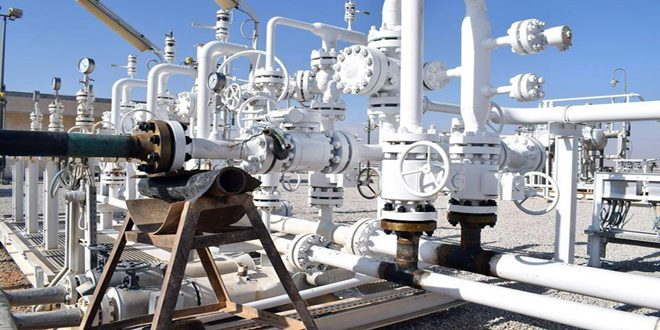 Additional million cubic meters of gas produced per day as two wells are put into production