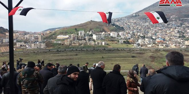 On 38th anniversary of annexation decision, occupied Golan will ever remain Syrian