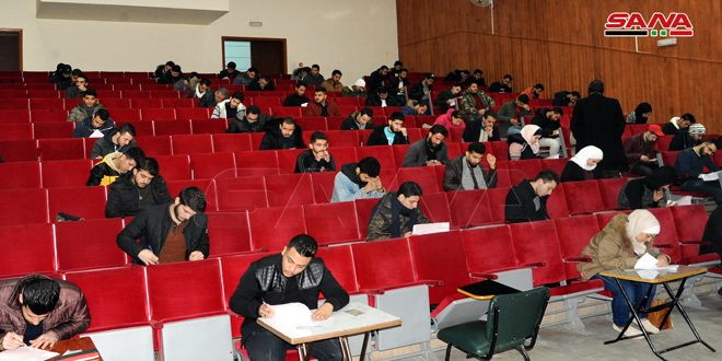 About 650 thousand students take first semester exams at governmental universities