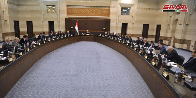 Cabinet discusses executive mechanism on applying decrees No. 3 and 4