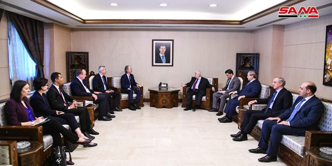 Al-Moallem affirms adherence to committee of discussing constitution's bases, procedures to maintain its Syrian independent decision