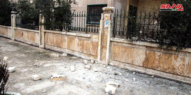Child and 2 women martyred, 3 others injured in terrorist rocket attack on Aleppo city