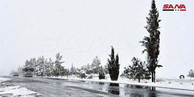 Polar low air pressure, heavy rains and snow expected