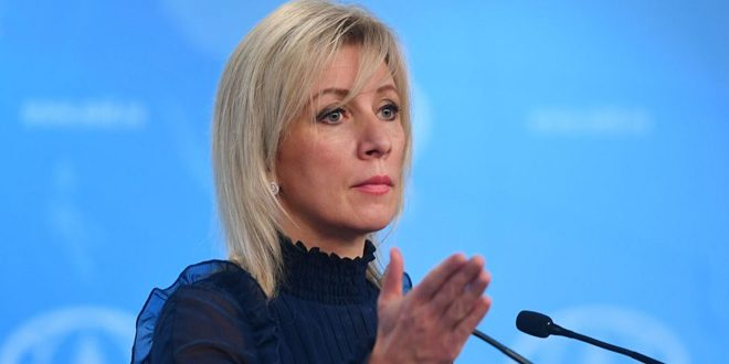 Zakharova: US presence in Syria completely contradicts international law