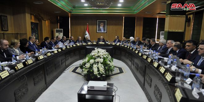 Cabinet approves comprehensive plan for development in various sectors in Aleppo