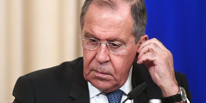 Lavrov: Syria has every right to eliminate terrorism from its territories