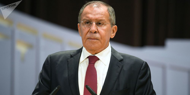 Lavrov reasserts necessity of eliminating terrorism in Idleb