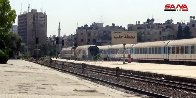 General Establishment of Railways: Aleppo-Damascus railway to be put into service in May