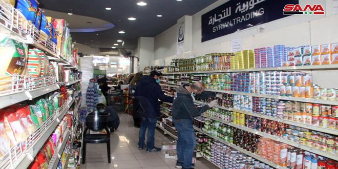 Syrian Trade Establishment: No increase in prices of basic materials