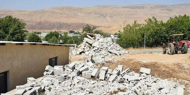 """Palestinians: """"Israel"""" demolishes our homes, but it will not destroy our determination"""