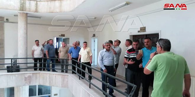 Syrian Grain Establishment in Al Hasaka regained after 16 days of QSD seizure