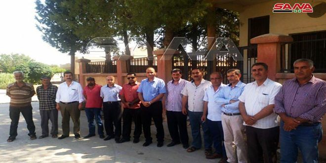 Qasad groups control Safia telecommunication center, north of Hasaka City