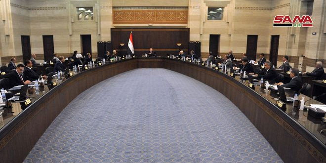 Cabinet provides Syrian Trading Establishment with two advance payments to import tea and rice