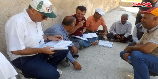 Qasad groups continue to prevent workers of Hasaka Electricity Company and Grain Corporation from entering to their workplaces