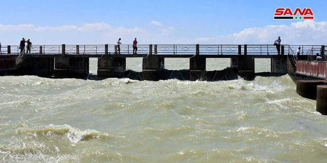 After nine-years hiatus, irrigation water released from Qattina Dam through main Channel