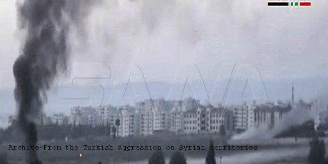 Turkish Occupation and its mercenaries loot wheat crop and properties in Raqqa and Hasaka