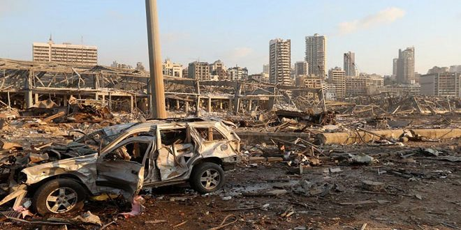 At least 100 deadand4,000 wounded due to explosion hit Beirut Port