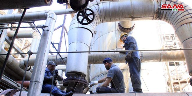 Workers of Banias Refinery… beehive around the clock to complete the overhaul