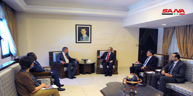 Mikdad to Lazarini… We are ready to provide all the facilities and the necessary support for UNRWA to carry out its tasks