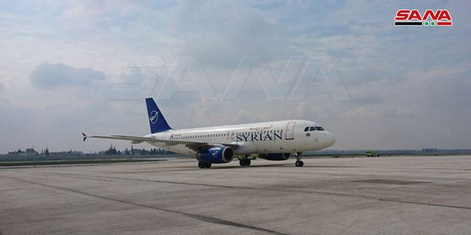 Transport Ministry: Two flights to be run weekly onboard of Syrian Airlines from Damascus to Doha and vice versa